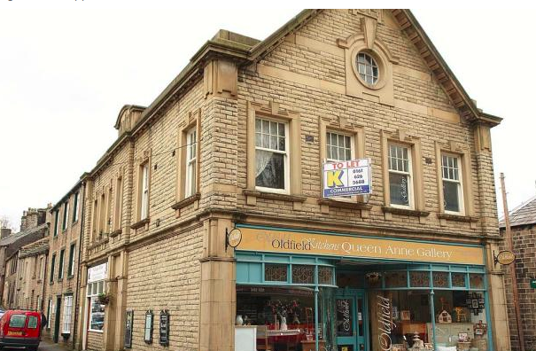 The Queen Anne Gallery, Uppermill.